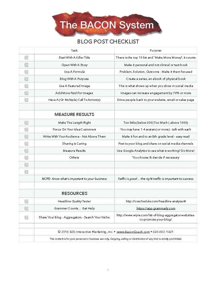 Workbooks & Forms